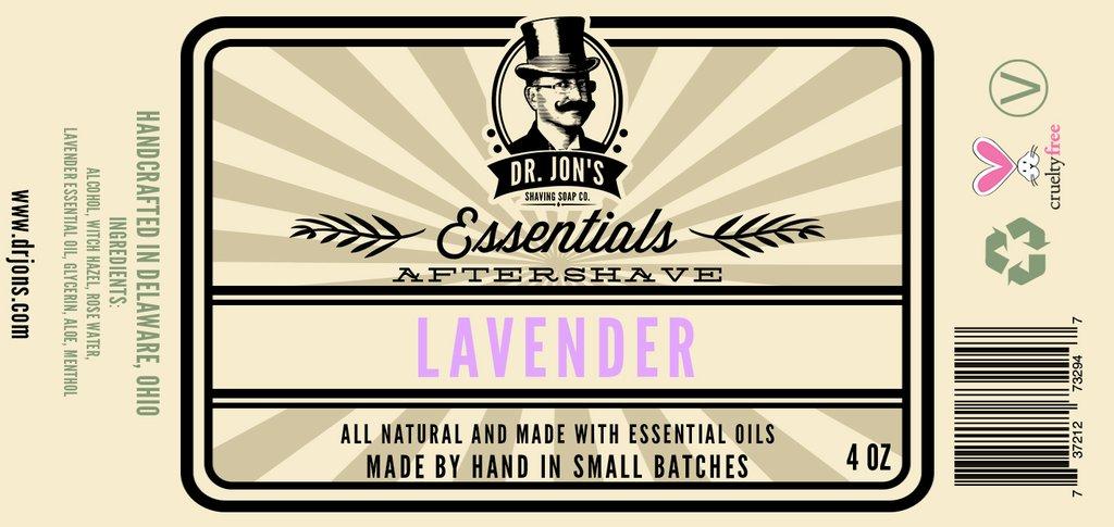 Dr. Jon's - Lavender - Aftershave image