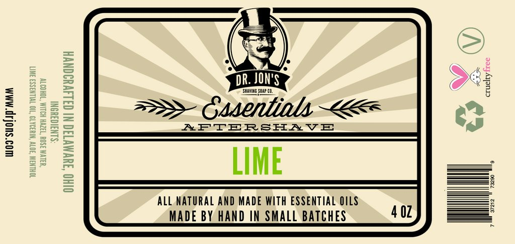 Dr. Jon's - Lime - Aftershave image