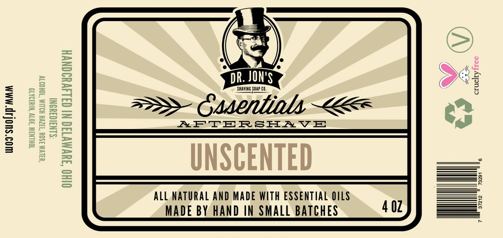 Dr. Jon's - Unscented - Aftershave image
