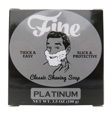 Fine Accoutrements - Platinum - Soap image