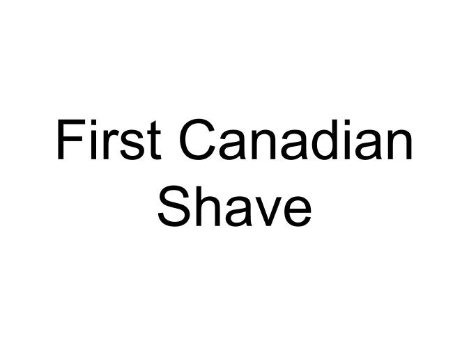 First Canadian Shave logo