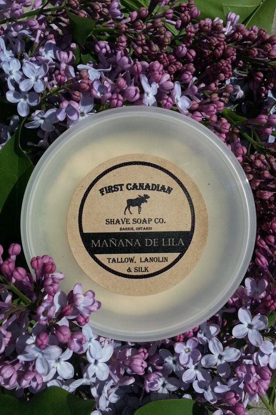 First Canadian Shave - Mañana De Lila - Soap image