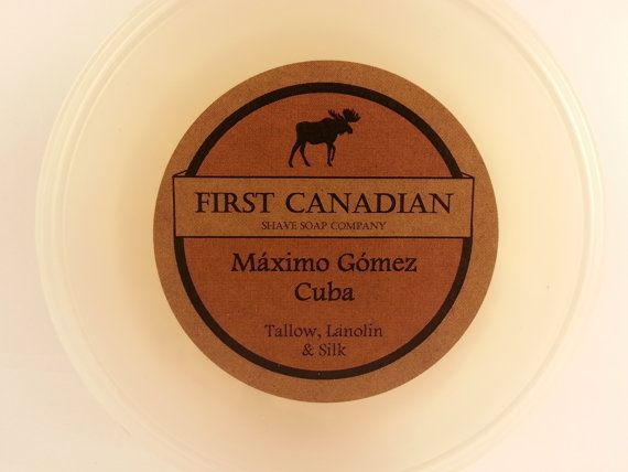 First Canadian Shave - Maximo Gomez, Cuba - Soap image