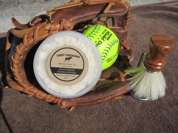 First Canadian Shave - South Simcoe Sandalwood - Soap image