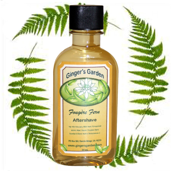 Ginger's Garden - Fougère Fern - Aftershave image