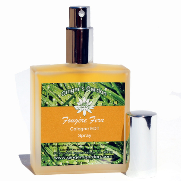 Ginger's Garden - Fougère Fern - Eau de Toilette image
