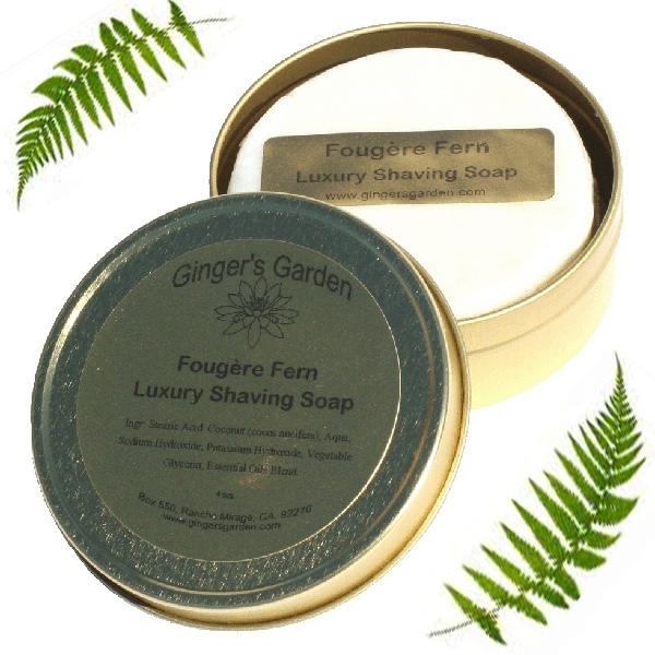 Ginger's Garden - Fougère Fern - Soap image