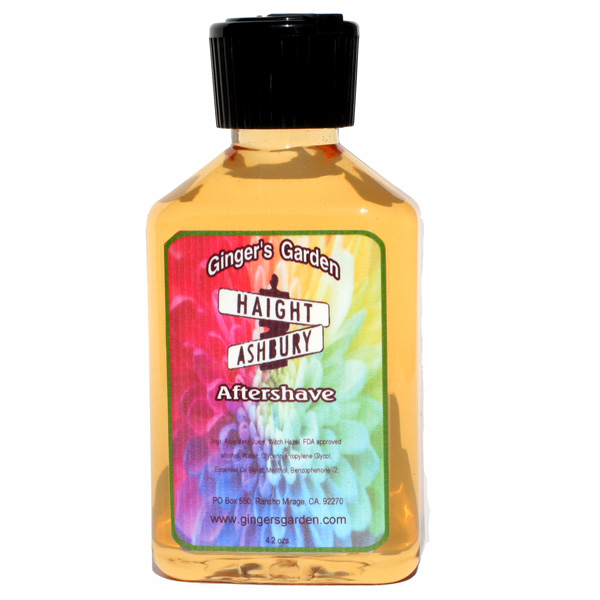 Ginger's Garden - Haight Ashbury - Aftershave image