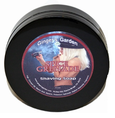 Ginger's Garden - Spice Grenade - Soap image