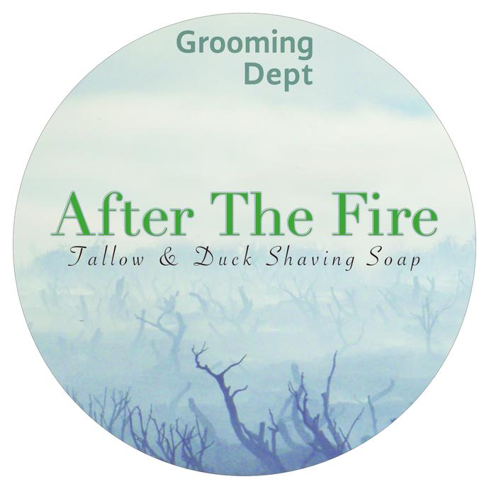 Grooming Dept - After The Fire - Soap image