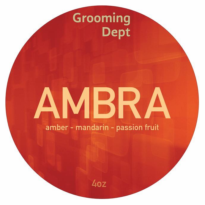 Grooming Dept - Ambra - Soap (Vegan) image