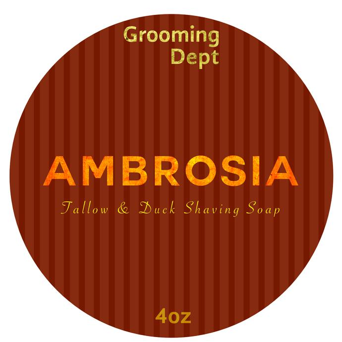 Grooming Dept - Ambrosia - Soap image