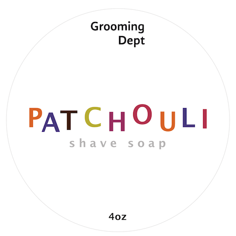 Grooming Dept - Patchouli - Soap (Vegan) image