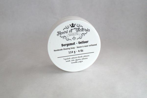 Henri et Victoria - Bergamot - Vetiver - Soap image