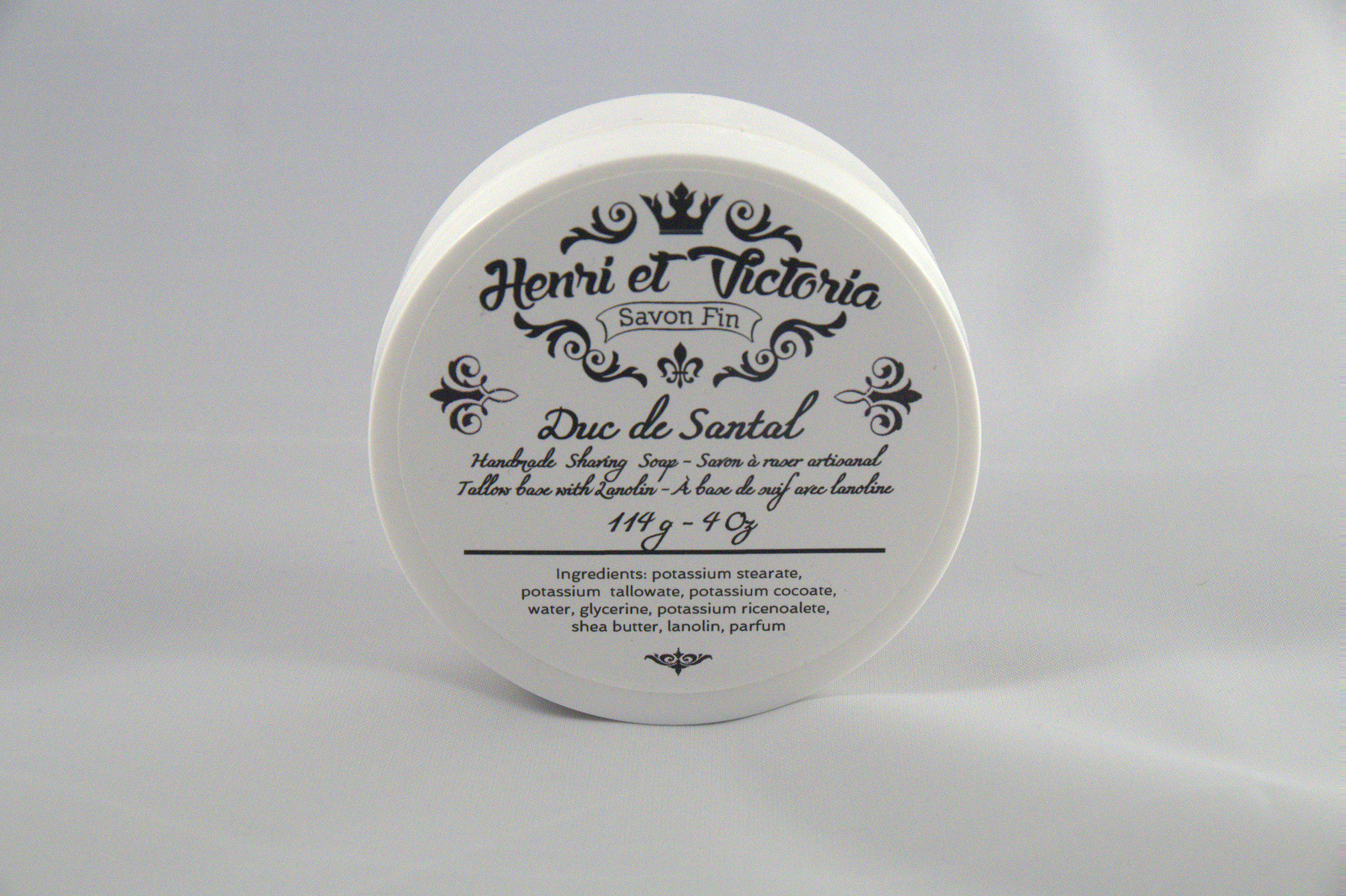 Henri et Victoria - Duc de Santal - Soap image