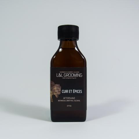 Declaration Grooming - Cuir et Épices - Aftershave image