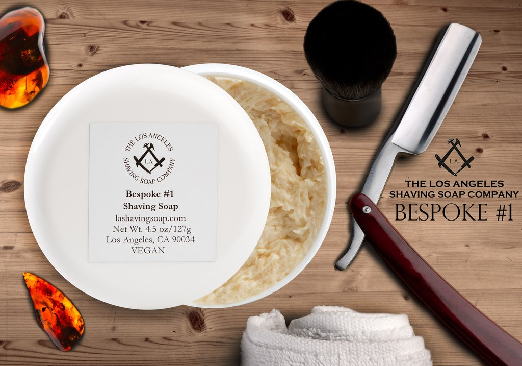 LA Shaving Soap Co. - Bespoke #1 - Soap image