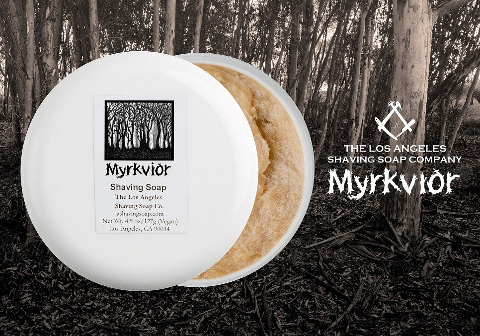 LA Shaving Soap Co. - Myrkviðr - Soap image