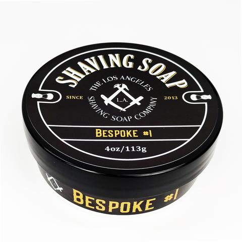 LA Shaving Soap Co. - Bespoke #1 - Soap (Vegan) image