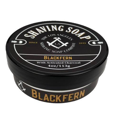 LA Shaving Soap Co. - Blackfern - Soap (Vegan) image