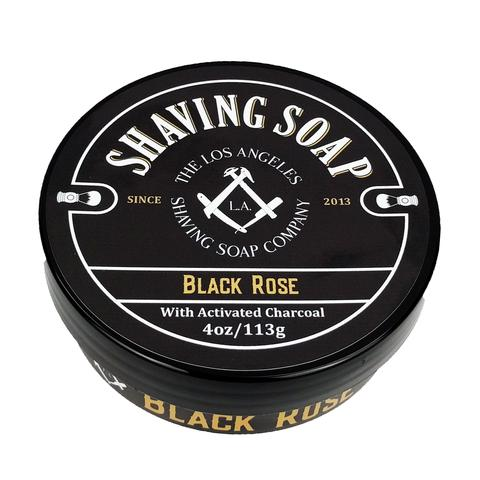LA Shaving Soap Co. - The Black Rose - Soap (Vegan) image
