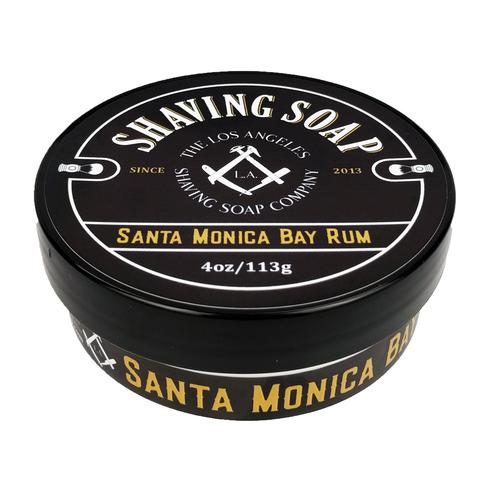 LA Shaving Soap Co. - Santa Monica Bay Rum - Soap (Vegan) image