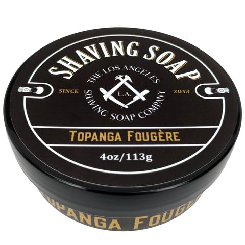 LA Shaving Soap Co. - Topanga Fougère - Soap (Vegan) image