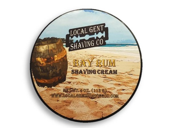 Local Gent Shaving Co. - Bay Rum - Cream image