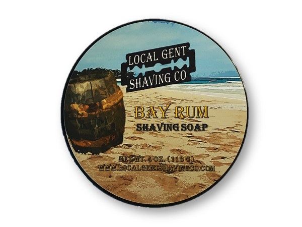 Local Gent Shaving Co. - Bay Rum - Soap image