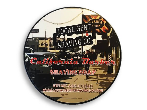 Local Gent Shaving Co. - California Barber - Soap image