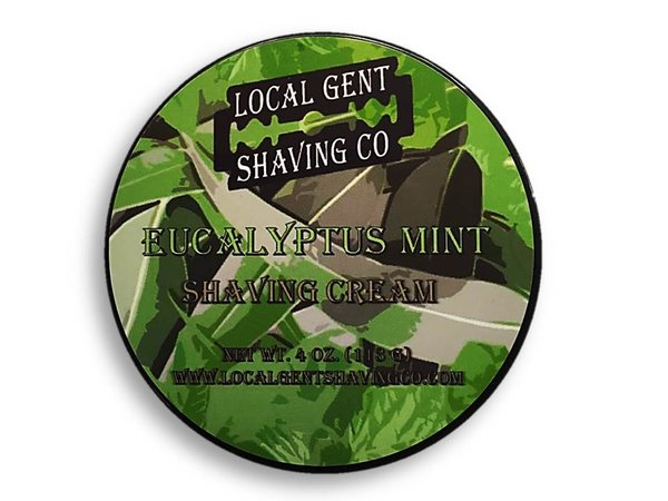 Local Gent Shaving Co. - Eucalyptus Mint - Cream image