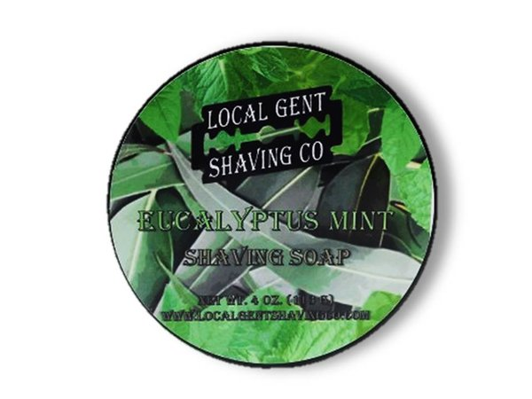 Local Gent Shaving Co. - Eucalyptus Mint - Soap image