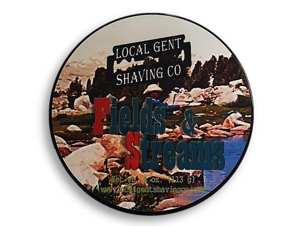 Local Gent Shaving Co. - Fields & Streams - Soap image