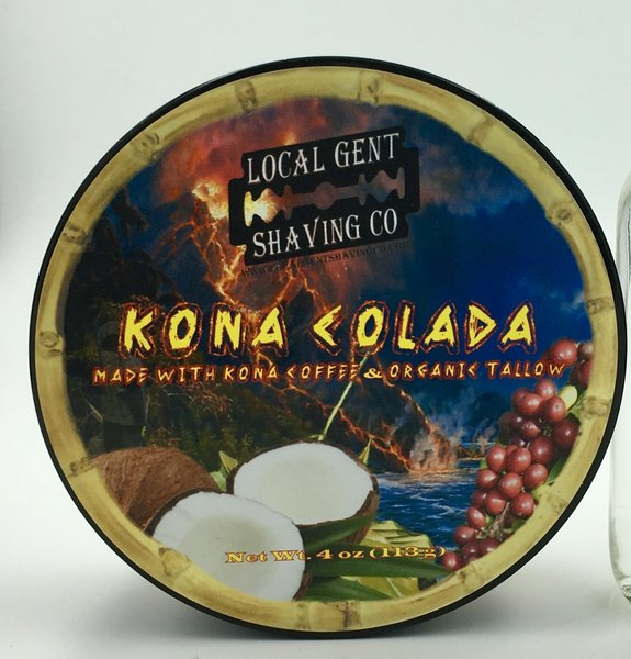 Local Gent Shaving Co. - Kona Colada - Soap image