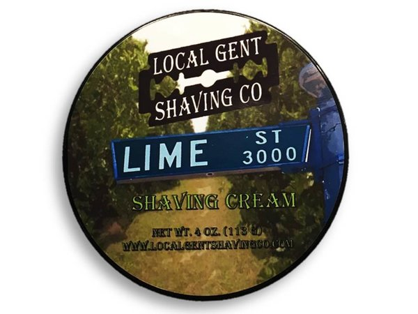 Local Gent Shaving Co. - Lime St. - Cream image