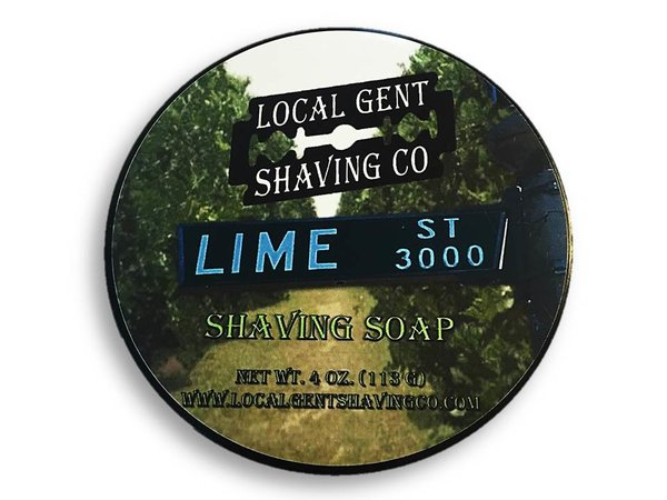 Local Gent Shaving Co. - Lime St. - Soap image