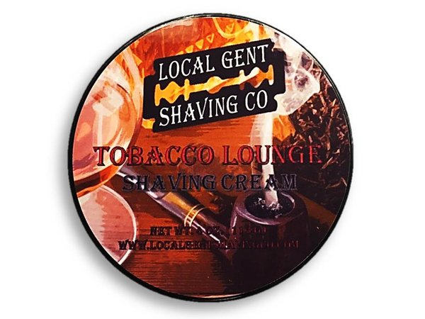 Local Gent Shaving Co. - Tobacco Lounge - Cream image