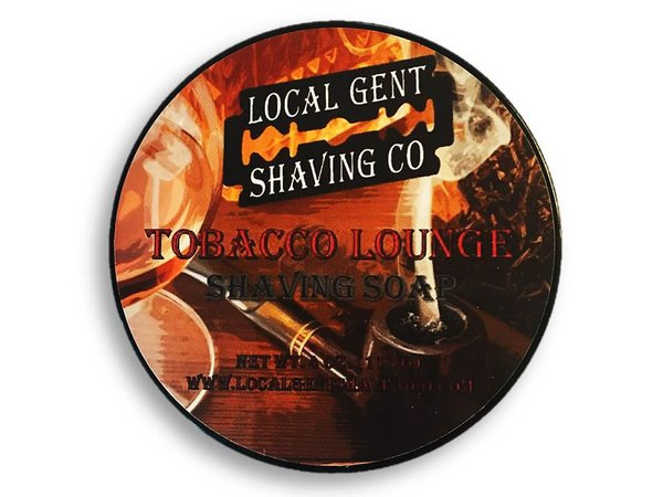 Local Gent Shaving Co. - Tobacco Lounge - Soap image