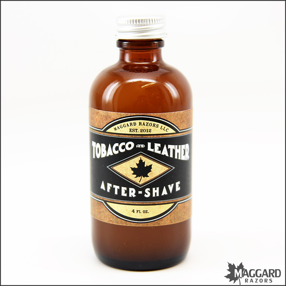Maggard Razors - Tobacco & Leather - Aftershave image