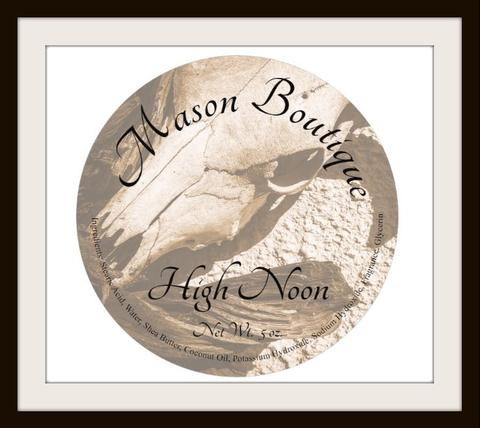 Mason Boutique - High Noon - Soap image