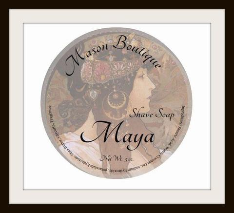 Mason Boutique - Maya - Soap image