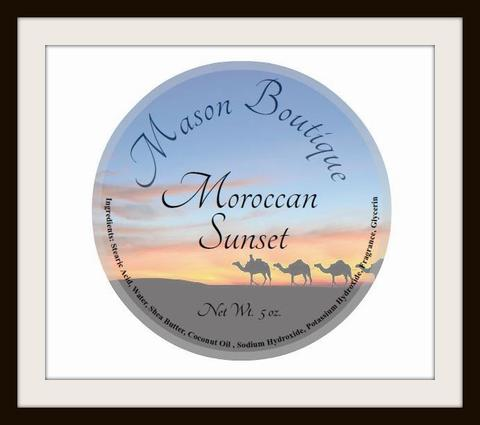 Mason Boutique - Moroccan Sunset - Soap image