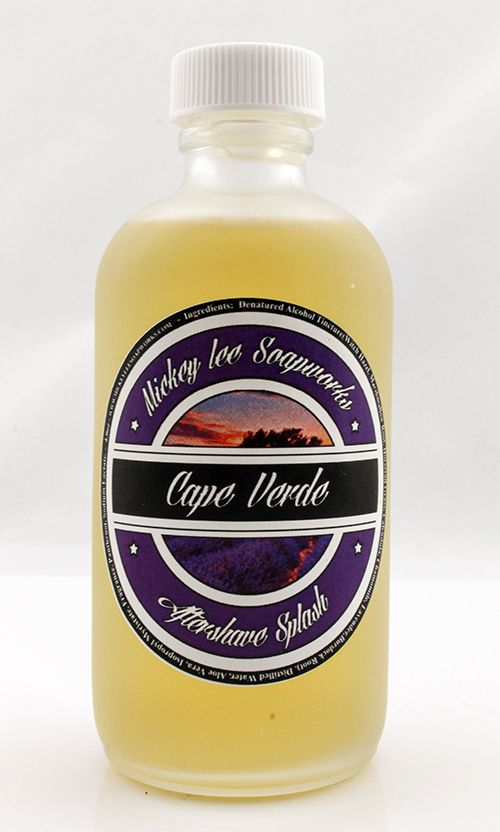 Mickey Lee Soapworks - Cape Verde - Aftershave image