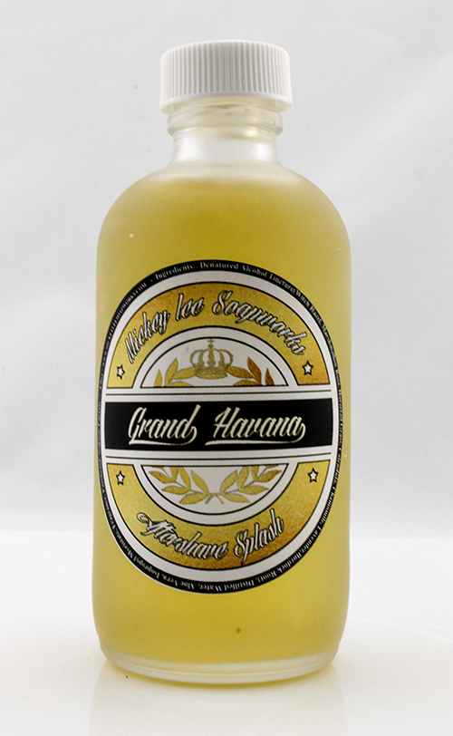 Mickey Lee Soapworks - Grand Havana - Aftershave image