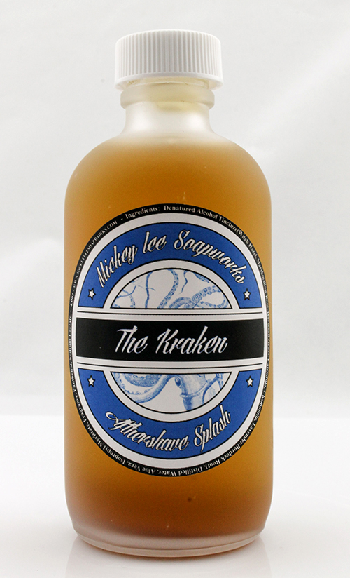 Mickey Lee Soapworks - The Kraken - Aftershave image