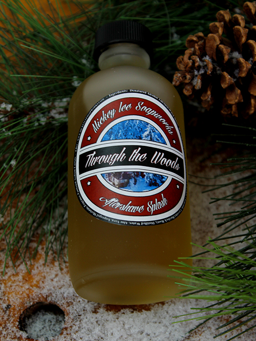 Mickey Lee Soapworks - Through the Woods - Aftershave image