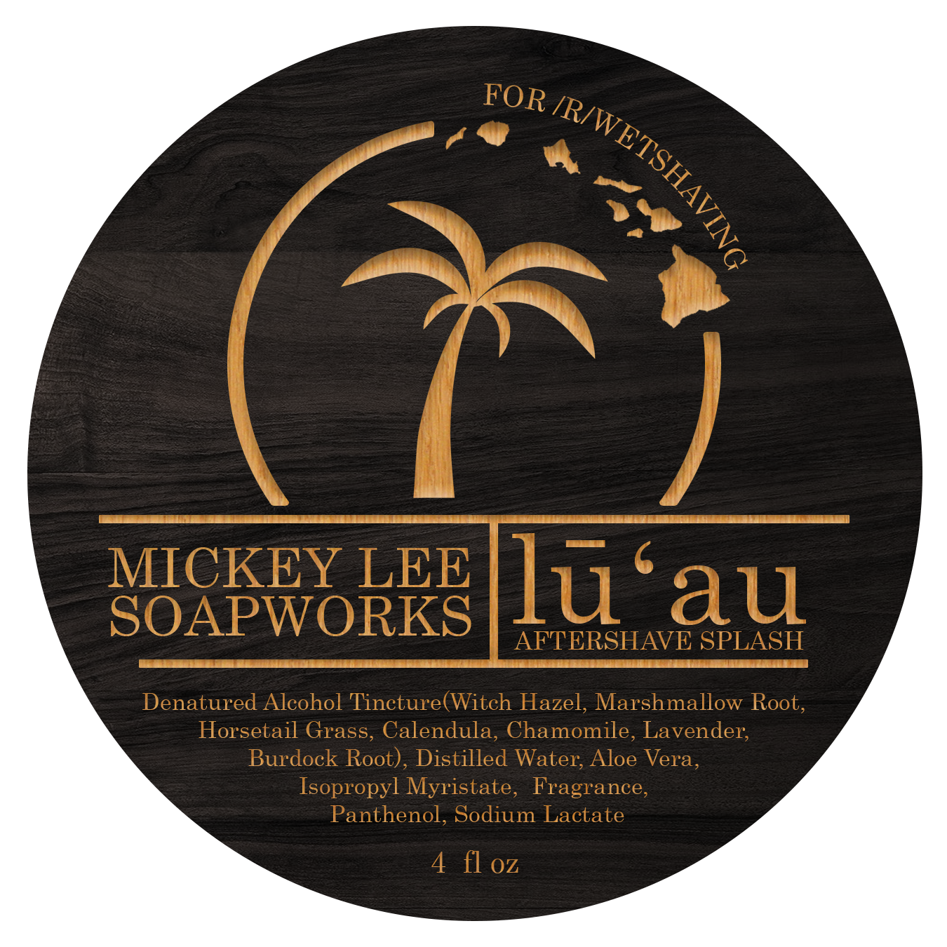 Mickey Lee Soapworks - Lu'au - Aftershave image