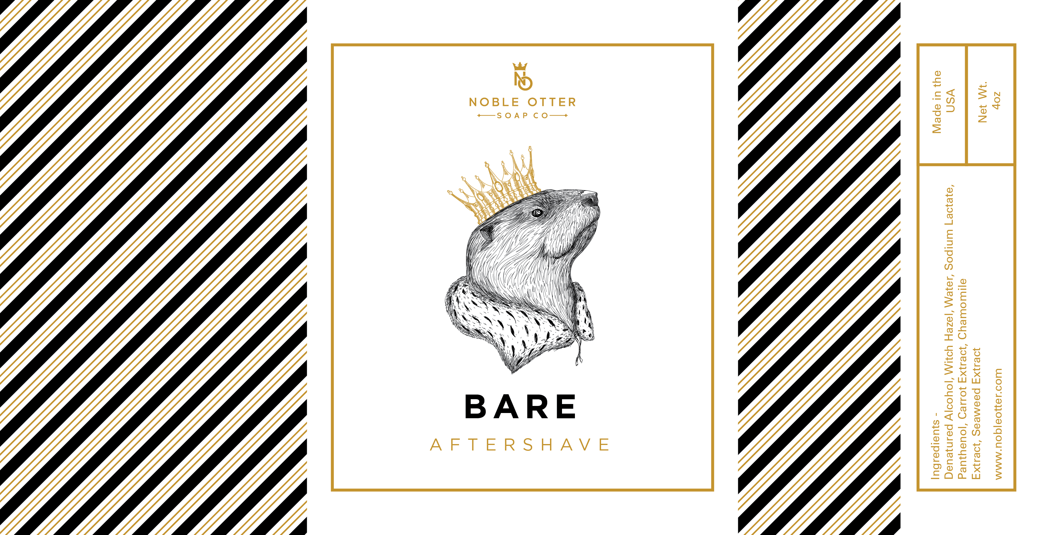 Noble Otter - Bare - Aftershave image
