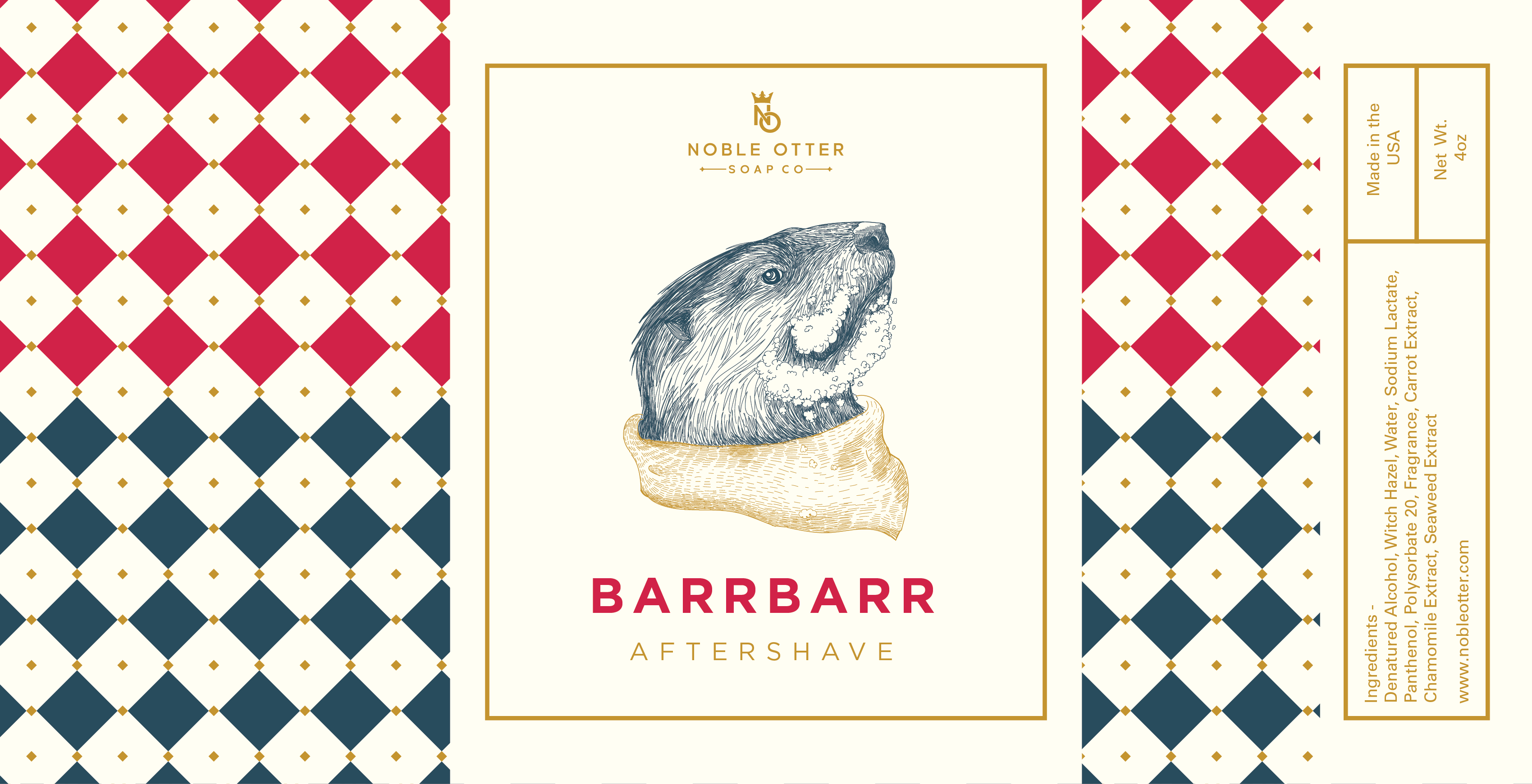 Noble Otter - Barrbarr - Aftershave image