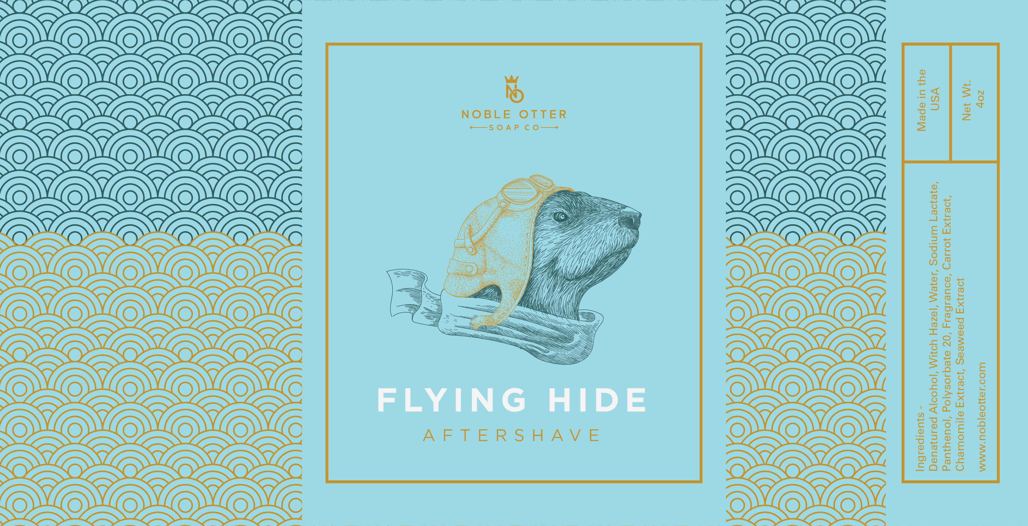 Noble Otter - Flying Hide - Aftershave image